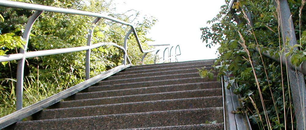 Impulso y potencia por las escaleras