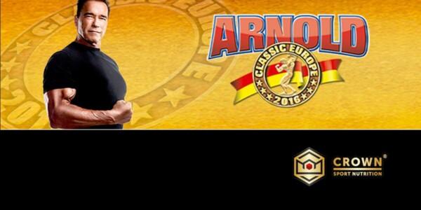 Crown Sport Nutrition estará en la Arnold Classic Europe
