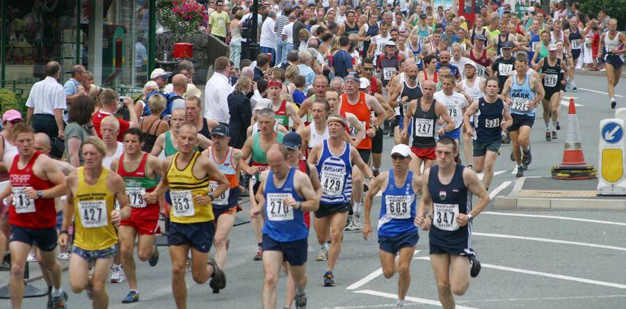 Preparación nutricional para un maratón