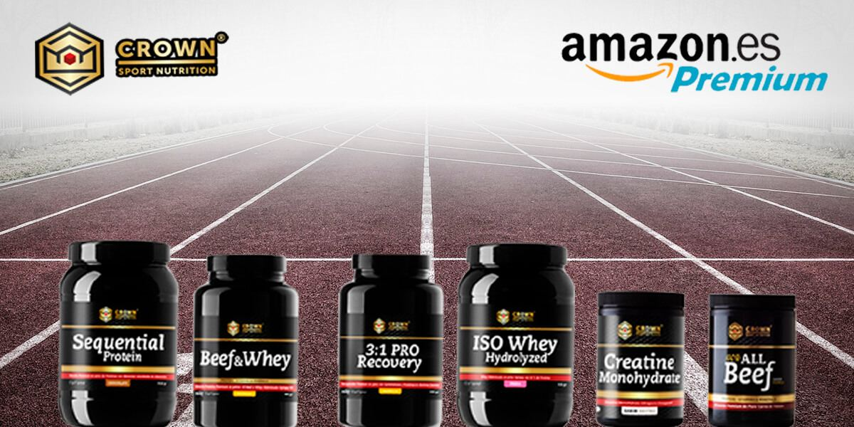 AMAZON YA VENDE LOS PRODUCTOS DE CROWN SPORT NUTRITION