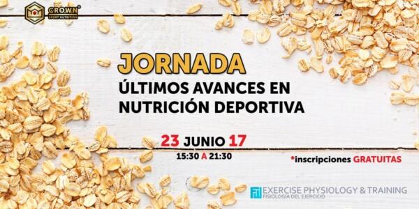 JORNADA ÚLTIMOS AVANCES EN NUTRICIÓN DEPORTIVA