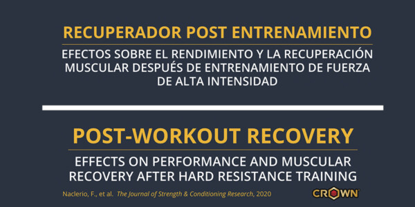 POSTWORKOUT MULTI-INGREDIENT SUPPLEMENTATION TO HASTEN MUSCLE RECOVERY